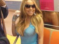 Mariah Carey : Pulpeuse en robe de soirée dans le métro !