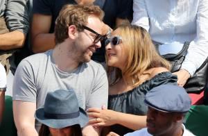 Roland-Garros - Marilou Berry, amoureuse : Moment de grâce avec son bel Arnaud