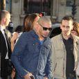 JoeyStarr - Arrivées à l'avant-première du film 'Sous les jupes des filles' à l'UGC Normandie sur les Champs Elysées à Paris le 2 juin 2014.