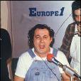Coluche en 1985.