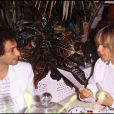 Michel Berger et France Gall à Saint-Tropez, le 21 août 1980.