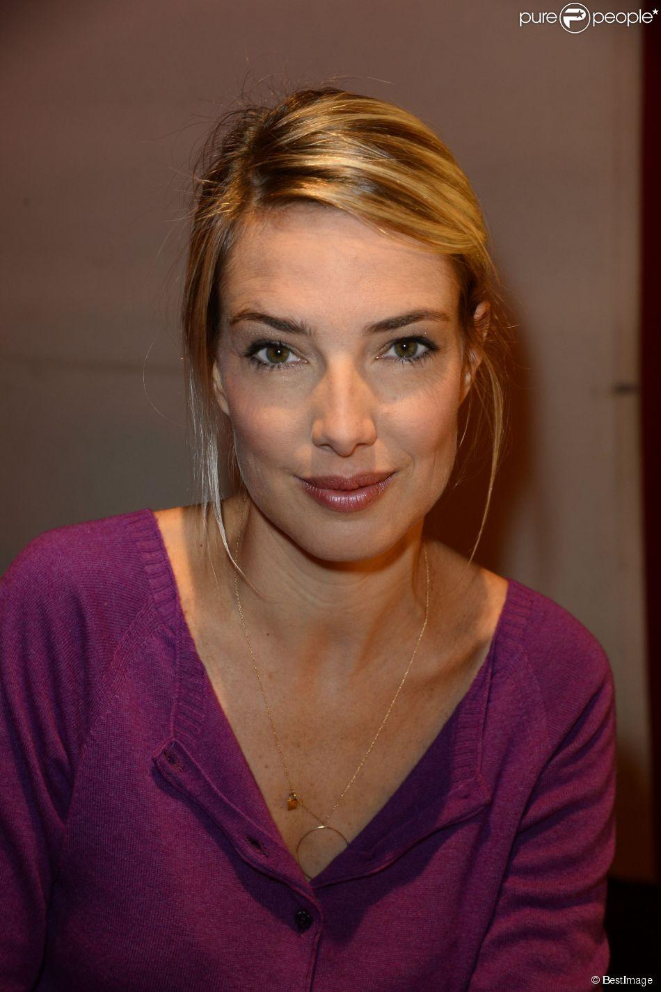 Sidonie Bonnec - Conférence de presse de rentrée de RTL à Paris le 10 septembre 2013.