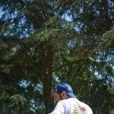 Cyril Hanouna à Roland-Garros pour participer au Trophée des personnalités, le vendredi 6 juin 2014.