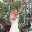 Rita Ora en concert lors du Capital Pride Festival à Washington, le 8 juin 2014.