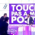 Julien Courbet s'incruste sur le plateau de TPMP, le mardi 10 juin 2014 sur D8