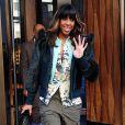 Kelly Rowland sort de son hôtel à New York, le 30 janvier 2014.