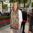 Armelle (Armelle Lesniak) lors de la soirée d'ouverture du 3ème Champs-Elysées Film Festival 2014 à Paris, le 10 juin 2014.