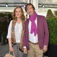 Armelle et Thierry Samitier lors de la soirée d'ouverture du 3ème Champs-Elysées Film Festival 2014 à Paris, le 10 juin 2014.