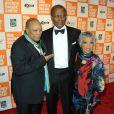 Quincy Jones, Sydney Poitier et Ruby Dee aux 38e annual Chaplin Award, à New York, le 2 mai 2011.