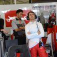 Nicolas prost lors des qualifications aux 24H du Mans, le 11 juin 2014 sur le circuit de la Sarthe