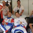 David Hallyday lors des qualifications aux 24H du Mans, le 11 juin 2014 sur le circuit de la Sarthe