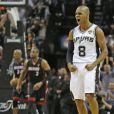 Les Spurs de San Antonio et Patty Mills ont décroché le cinquième titre NBA de leur histoire en s'imposant face au Heat de Miami (104-87), dans leur salle du AT&T Center lors du match 5 des finales, le 15 juin 2014