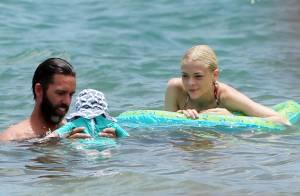 Jaime King, bikini et eaux turquoise : Aux anges avec son bébé et son homme !