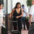 Kim Kardashian emmène sa fille North chez le pédiatre. Beverly Hills, le 24 juin 2014.