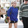 Lourdes Leon (la fille de Madonna) va déjeuner avec des amis à Beverly Hills, le 27 janvier 2014.