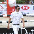 Guillaume Canet lors du premier jour du Jumping International de Monte-Carlo, Port Hercule, à Monaco, le 26 juin 2014.
