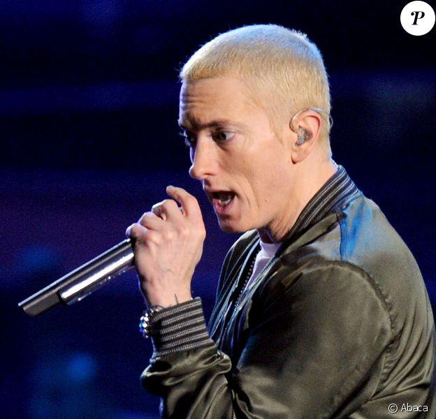 Eminem à Los Angeles le 13 avril 2014.