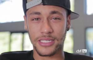 Mondial 2014 : Bouleversé, Neymar évoque son rêve brisé après sa grave blessure