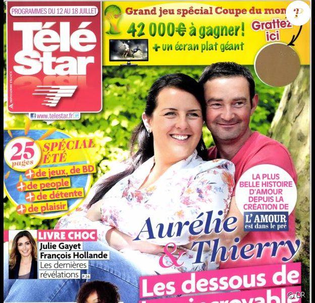 Magazine Télé Star du 12 au 18 juillet 2014.
