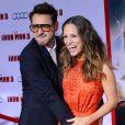 Robert Downey, Jr. et Susan Downey à Los Angeles le 24 avril 2013.