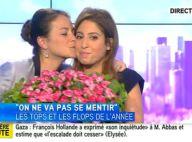 Léa Salamé, émue lors de nouveaux adieux sur i-Télé : ''Je suis un peu triste''