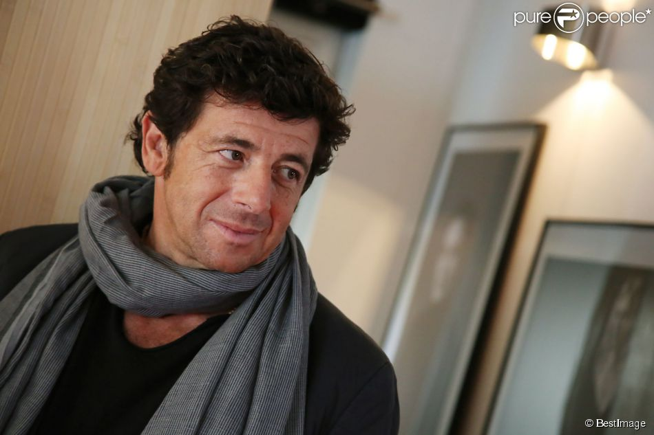 exclusif patrick bruel photographi lors d 39 une interview pour la promotion du film tu veux ou. Black Bedroom Furniture Sets. Home Design Ideas