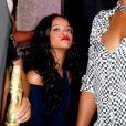 Rihanna lors d'une soirée Budweiser au Budweiser Hotel de Copacabana à Rio le 13 juillet 2014