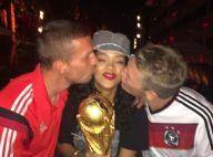Rihanna: Selfies, poitrine et Coupe du monde, la star fête la victoire allemande
