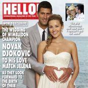 Novak Djokovic, l'heureux marié raconte : ''Jelena ressemblait à un ange''