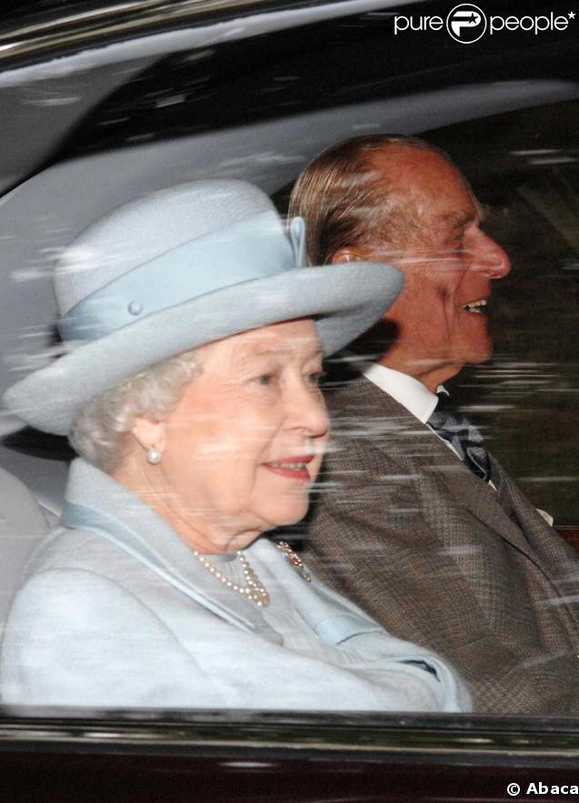 Onzième anniversaire de la mort de Lady Di : Elizabeth II et le princ Philip