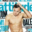 """Tom Daley torse nu en couverture du magazine """"Attitude"""" - juillet 2014"""