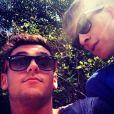 Tom Daley et Dustin Lance Black, photo postée le 10 juin 2014.