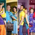 Marion et Cédric, Liliane et José, Huguette et Raymond, Emma et Fabien : les quatre couples héros de  Scènes de Ménages .