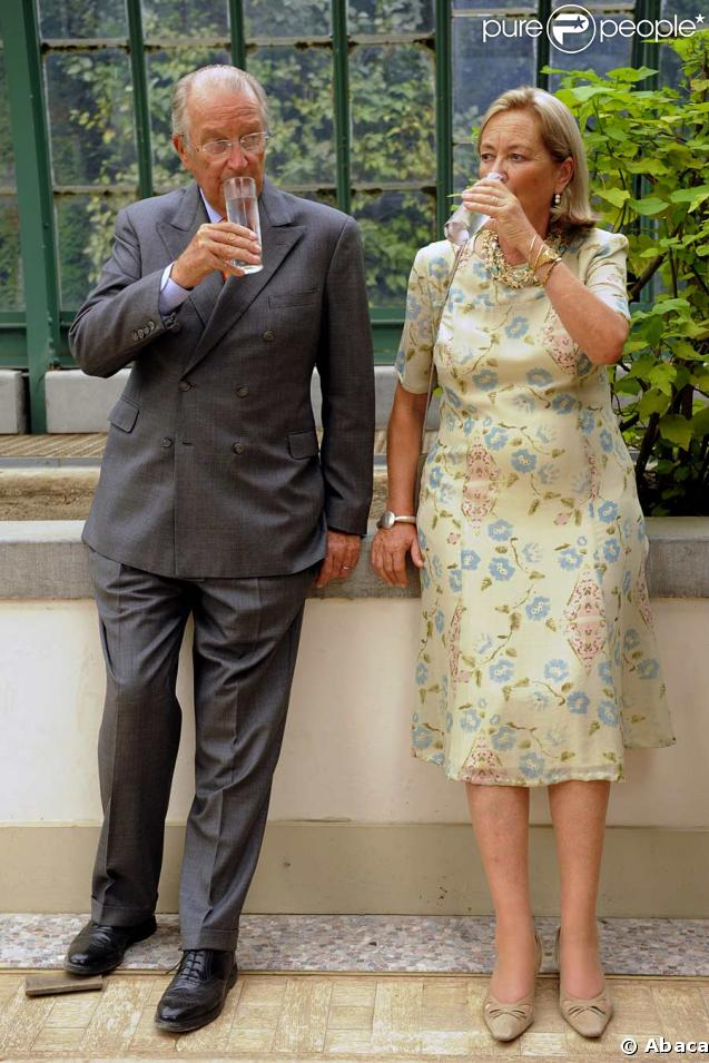 Anniversaire d'Albert II de Belgique : le roi et la reine Paola