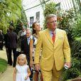 Anniversaire d'Albert II de Belgique : le prince Laurent, suivi par sa fille Louise et son épouse Claire