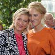 Anniversaire d'Albert II de Belgique : la princesse Astrid et une de ses filles, Maria-Laura
