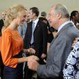 Anniversaire d'Albert II de Belgique : Maria-Laura et son grand-père le roi Albert II