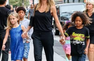 Heidi Klum : Sa fille Leni lui pique déjà ses talons !
