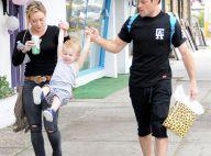 Hilary Duff et son futur ex-mari : Une famille unie pour le bien du petit Luca