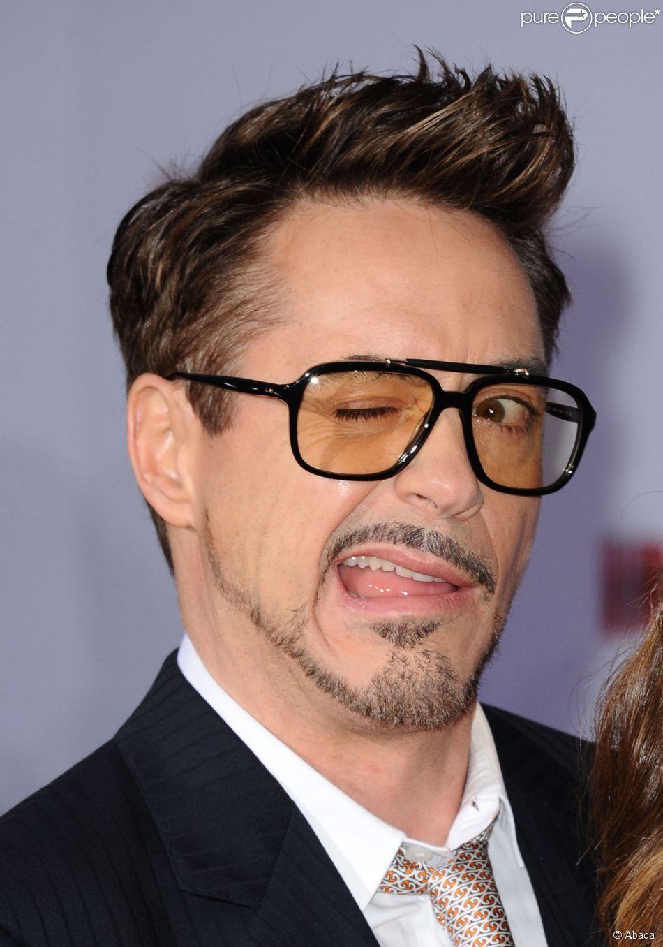 Robert Downey Jr. à Los Angeles, le 24 avril 2013. Il a gagné 75 millions de dollars entre juin 2013 et juin 2014.