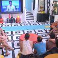 Aymeric dans la quotidienne de Secret Story 8, sur TF1, le jeudi 24 juillet 2014