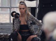 Cara Delevingne : Sportive chic, dans les coulisses de la campagne Chanel