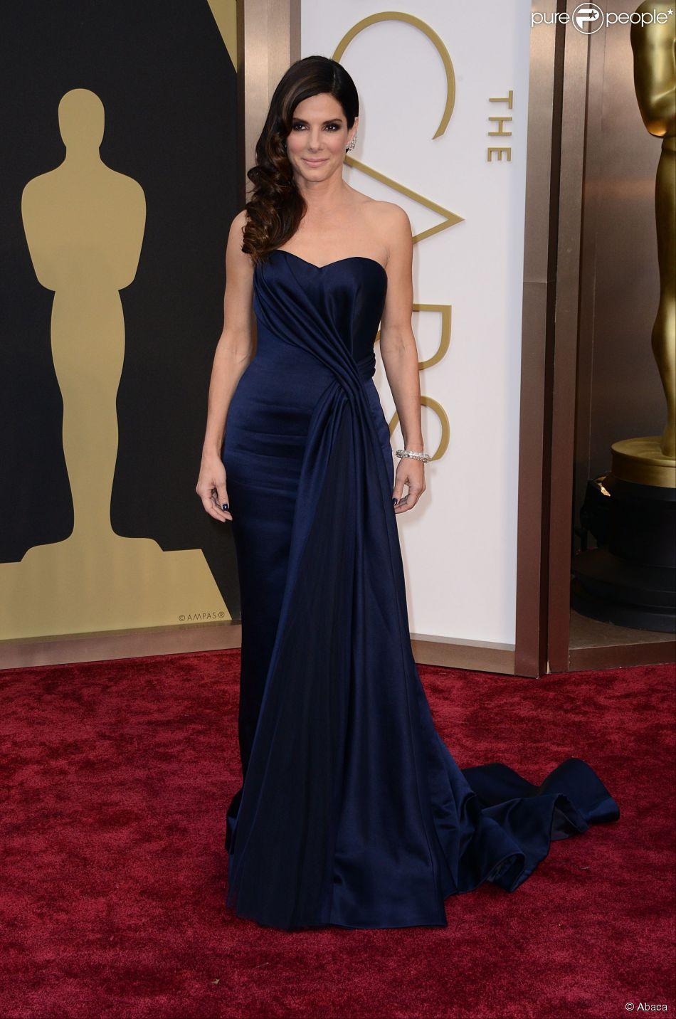 Sandra Bullock lors de la cérémonie des Oscars 2014