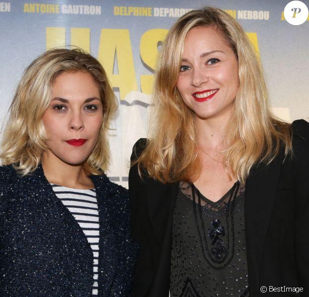 """Alysson Paradis, Delphine Depardieu - Avant-première du film """"Hasta Mañana"""" au cinéma Publicis à Paris, le 29 juillet 2014"""