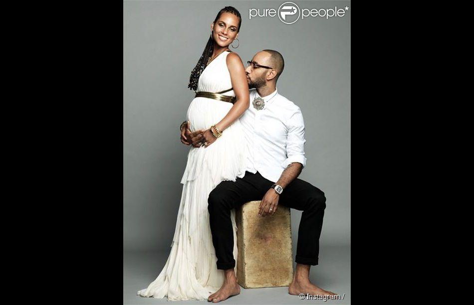 Alicia Keys et Swizz Beatz attendent leur deuxième enfant. Le couple ... Alicia Keys