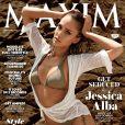 Jessica Alba en couverture du magazine Maxim