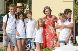 Sofia d'Espagne : Grand-mère poule comblée par ses bambins, jeunes diplômés