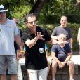 Thierry Beccaro - 7e édition du Star West Pétanque au parc Mauresque à Arcachon le 3 août 2014.