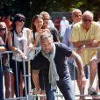 Philippe Bas - 7e édition du Star West Pétanque au parc Mauresque à Arcachon le 3 août 2014.