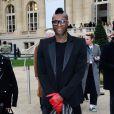Djibril Cissé à Paris, le 2 mars 2014.